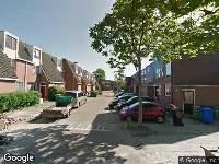 112 melding Ambulance naar Does in Rotterdam