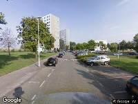 112 melding Brandweer naar Park Vossendijk in Hoogvliet Rotterdam vanwege een buitenbrand