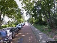 112 melding Brandweer en politie naar Wagenaarlaan in Ede vanwege brand