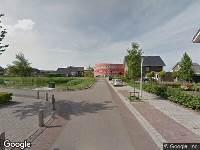 Brandweer naar Eerdelaan in Zwolle