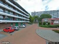 112 melding Brandweer naar Trommel in Hoogvliet Rotterdam vanwege verkeersongeval