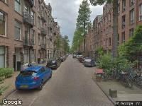 112 melding Ambulance naar Vrolikstraat in Amsterdam