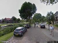 112 melding Besteld ambulance vervoer naar Van Houtenkade in Alkmaar