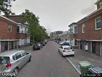 Ambulance naar Van Barbansonstraat in Voorburg