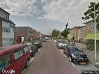 112 melding Brandweer naar C. van Maasdijkstraat in Utrecht vanwege gebouwbrand