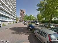 112 melding Ambulance naar Eliotplaats in Rotterdam