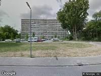 112 melding Besteld ambulance vervoer naar Albert Schweitzerplaats in Rotterdam
