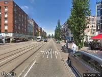 112 melding Ambulance naar Eerste Constantijn Huygensstraat in Amsterdam