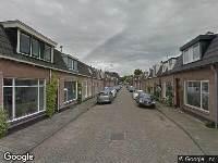 Brandweer naar Noorderstraat in Nieuwegein vanwege een buitenbrand