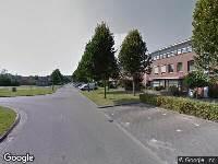 Brandweer naar Picassoweg in Almere
