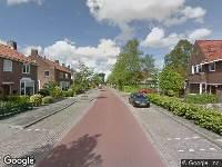 Brandweer naar Verzetsstraat in Leeuwarden vanwege afgaan rookmelder