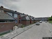 112 melding Brandweer naar Watermanstraat in Zwijndrecht