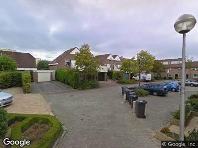 Traumahelikopter naar Nolensstraat in Naaldwijk
