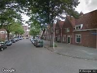 112 melding Ambulance naar Alwinastraat in Rotterdam