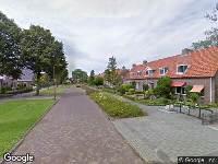 Brandweer naar Anjelierstraat in Heerenveen