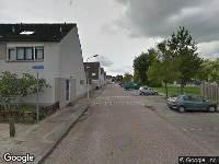 Brandweer naar Van Eedenstraat in Zwijndrecht vanwege brand