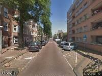 Ambulance naar Uilenburgerwerf in Amsterdam