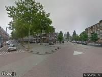 Traumahelikopter naar Oranjeboomstraat in Rotterdam