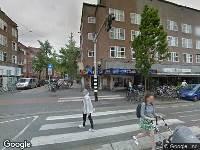 Ambulance naar Jan Evertsenstraat in Amsterdam