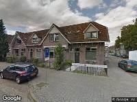 112 melding Brandweer naar Fellenoordstraat in Breda