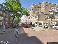 Ambulance naar Van Spilbergenstraat in Amsterdam