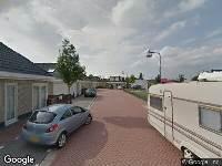 112 melding Brandweer naar Tiberiusstraat in Leiden vanwege een buitenbrand