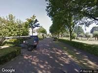 Brandweer naar Slotlaan in Ulvenhout