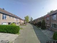 112 melding Ambulance naar Boris Pasternak-erf in Dordrecht