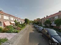 Ambulance naar Domela Nieuwenhuisstraat in Gouda