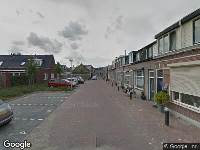 112 melding Politie naar J.W.C. Bloemstraat in Alphen aan den Rijn vanwege ongeval met letsel
