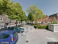Ambulance naar Magalhaensplein in Amsterdam