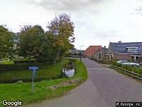 Brandweer naar Doniaweg in Burgwerd vanwege gebouwbrand