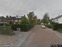 112 melding Ambulance naar Taxandriëstraat in Oosterhout