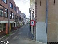 Politie naar Steenstraat in Zwolle