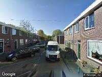 112 melding Ambulance naar Welschapstraat in Rotterdam