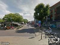 112 melding Ambulance naar Valkeniersplein in Breda