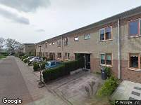 112 melding Ambulance naar Azobé in Dordrecht