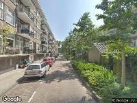 112 melding Ambulance naar Elegaststraat in Amsterdam