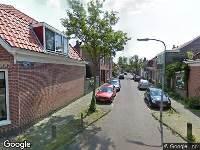 112 melding Ambulance naar Eendrachtstraat in Haarlem