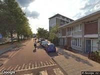 112 melding Brandweer naar Bonaireplein in Leiden vanwege brand