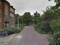 112 melding Brandweer naar Albertine Agnesstraat in Leiden vanwege gebouwbrand