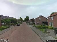112 melding Ambulance naar Lijsterstraat in Hapert
