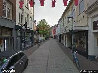 112 melding Brandweer naar Weverstraat in Arnhem vanwege wateroverlast