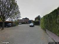 112 melding Brandweer en politie naar Paddestoelstraat in Arnhem
