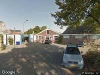 112 melding Brandweer naar Mathildastraat in Oosterhout