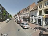 Ambulance naar Zwartbroekstraat in Roermond
