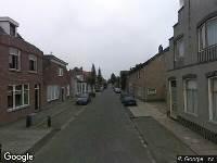 112 melding Ambulance naar Besoyensestraat in Waalwijk