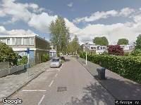 112 melding Brandweer naar Populierstraat in Leeuwarden