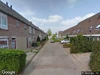Ambulance naar Mina Krüseman-erf in Dordrecht
