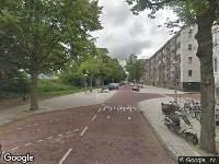112 melding Brandweer naar James Rosskade in Amsterdam
